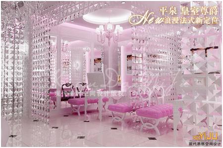 全国专业婚纱影楼店面装修设计,法式婚纱店装修,法式婚纱影